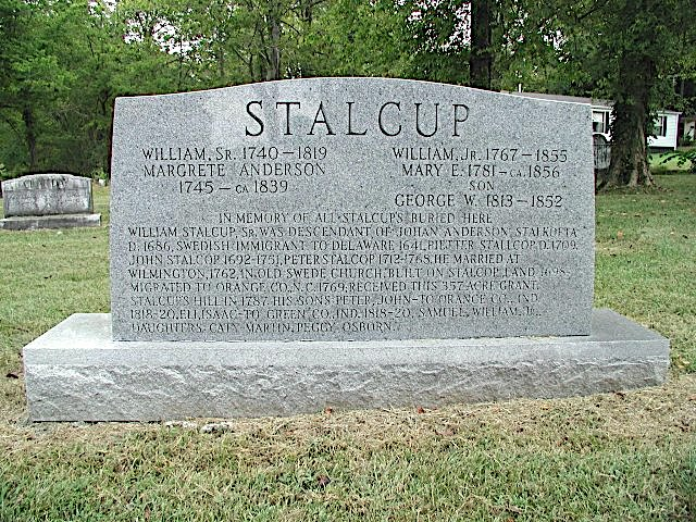 Stalcup Headstone